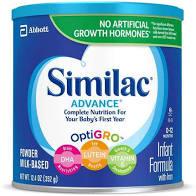 Infant Formula (Similac) - 3 Pack