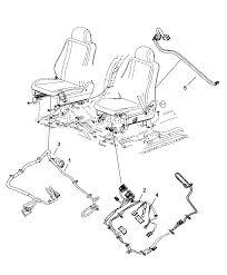 2009 dodge durango wiring seats front diagram i2216419