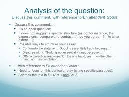 essay writing guidelines and faq ppt video online analysis of the question discuss this comment reference to en attendant godot