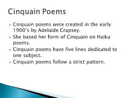 What's The Pattern Of A Haiku Impressive Haiku Tanka Cinquain And Diamante Ppt Video Online Download
