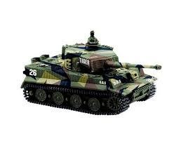 <b>Танк Great Wall</b> Toys German Tiger 1:72 RTR (Jungle Camo)