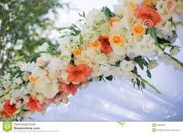 Wedding Flowers Decoration Wedding Flowers Decoration Stock Photo Image 49580063