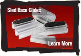not your average everyday sled base glide