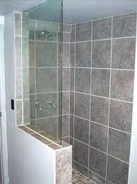 half wall shower glass glass shower build ideas please glass shower wall panels canada