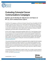 this resource provides gui for evaluating the effectiveness and impact of 80 by 2018 communications efforts