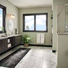 brushed linen contemporary white clacutta contemporary bathroom remodel
