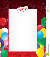 Party Invitation Background Image Party Invitation Background Stock Vector Illustration Of Clip