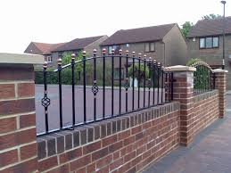 Small Picture wrought iron fence front yard pinterest wrought iron fences