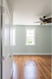 hardwood on walls ideas vinyl tile bathroom flooring for shower sherwin williams crushed ice sw trim
