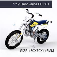 husqvarna fe 501 off road 1 12 scale metal diecast models motor