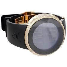 gucci 1142. gucci diamond i-watch digital grammy edition ya114215 black/gold 1142