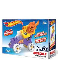 Машинка <b>конструктор Hot wheels</b> серия musculz Axel Bauer ...