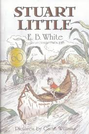 e b white books author biography and reading level scholastic card image