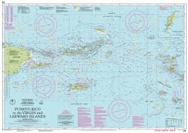 Puerto Rico Charts Imray Nautical Chart Imray A2 Puerto Rico To The Virgin And Leeward Islands