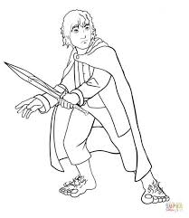 Small Picture Lord of the Rings coloring pages Free Coloring Pages