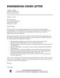Cover Letters Engineering Cover Letter Job Application Civil