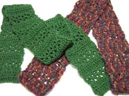 Double Crochet Scarf Patterns Cool Quick Vstitch Scarf Clothing Crocheted My Patterns Mama's