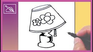 Cómo Dibujar Una Lámpara How To Draw A Table Lamp Dibujando