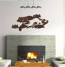 Small Picture Momma Bear and Cub Wall Decals Mural Home Decor Vinyl Stickers