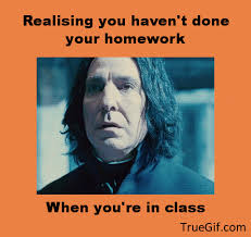 realising you haven t done your homework when you re in class dear troll don t be shy add comment out registering