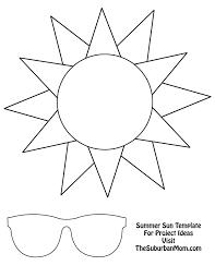 Sun Template Printable Template Of A Sun Magdalene Project Org