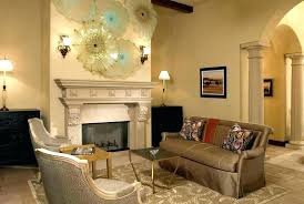 stone wall fireplace decorating ideas print tapestry hanging art decoration decor around decorate above mantel