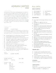 Resume Of Teacher Sample Adorable Sample Resume For Fresher Teachers Job Packed With Sample Resume For