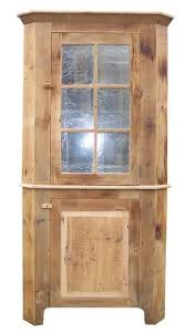 ask us a question reclaimed barn wood corner hutch with glass doors
