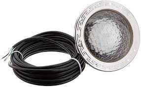 American Products Pool Light R 400 Bc Pentair 78448100 Amerlite Underwater Incandescent Pool Light With Stainless Steel Face Ring 120 Volt 50 Foot Cord 400 Watt