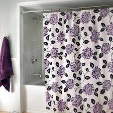 purple and silver shower curtain. Purple Shower Curtain Gray Silver Color Pretty Vinyl Liner . And