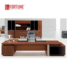 high quality office work. High Class Quality Wooden Timber E1 MFC Big Boss Office Work Desk (FOH-P3521 C