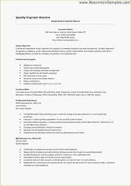 quality engineer resume to inspire you how to create a good resume 12 resume format for quality engineer