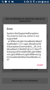 Xamarin Mvvm Light Xamarin Forms The Mvvmlight Toolkit And I Showing Dialog