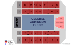 Big Sandy Superstore Arena Seating Atkins Farms Amherst
