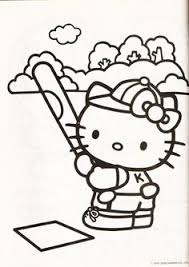 Hello kitty playing violin instrument coloring page. 200 Coloring Hello Kitty Ideas Hello Kitty Hello Kitty Coloring Kitty