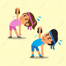 Image result for cartoon exercise royalty free