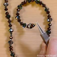 get started making your own jewelry with this easy beaded necklace we ll show