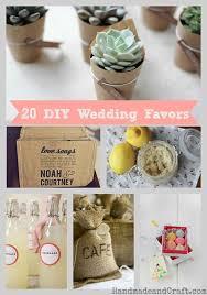 Fascinating DIY Wedding Favors 20 Diy Wedding Favors