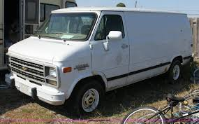 1993 Chevrolet G20 van   Item 6173   SOLD! March 8 Governmen...