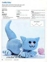 Free Crochet Cat Patterns Extraordinary More Cats To Crochet 48 Free Patterns Grandmother's Pattern Book