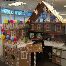 decorate office for christmas. Office Christmas Decoration Idealvistalistco Party Diy Pole Tree Cubicle Lobby Themes Ideas Decorate For