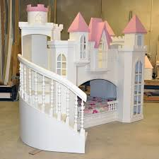 Serene Stairs Princess Loft Bed For Hailey For Images About