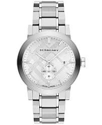 burberry watches macy s burberry men s swiss stainless steel bracelet watch 42mm bu9900