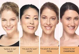 Benefit Foundation Colour Chart Ivory Skin Tone Midway Media