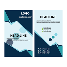 Brochure Graphic Design Background Brochure Template Flyer Design Vector Background Template