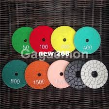 2019 diamond pads 3 inch 80mm wet marble granite polishing pads kit buffing pad sanding disc from new268 59 3 dhgate com