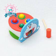 Đập bóng Doremon món đồ chơi không thể thiếu cho bé