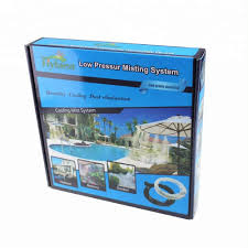 15m 50feet outdoor mist mosquito cooling system water garden hose mister