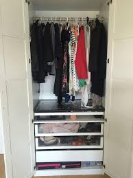 Kleiderschrank Mit Inneneinrichtung Bettwäsche Standardmaß