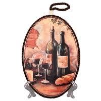 "<b>Подставка под горячее Elan</b> gallery ""Натюрморт с вином"" 19*13*1 ..."
